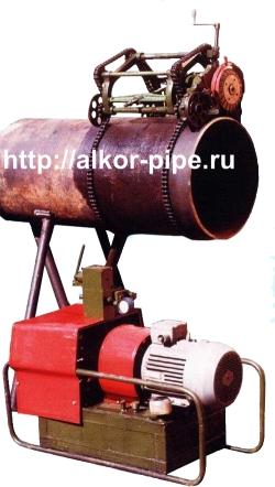 Машина гидравлическая для резки труб 352-218