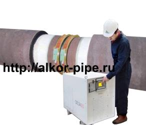 Индукционный подогреватель стыков труб DELTA 50