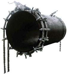 Цепной центратор с двумя цепями «Double Chain Clamp»