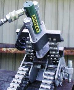 Центратор «Double Chain Clamp» с гидравлическим натяжителем цепи