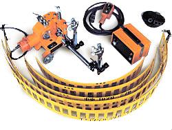 Машина «Орбита» для газовой резки труб
